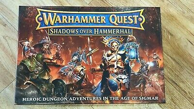 Warhammer Quest - Shadows Over Hammerhal - Complete And New - OOP And Rare • 125£