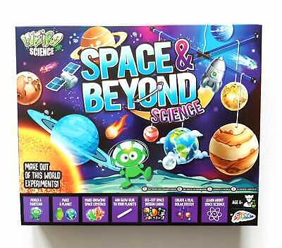 Science Kit For Kids Space Childrens Experiments Activity Set Educational UK • 12.15£
