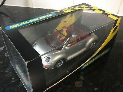 New Boxed Scalextric VWSilver `beetle Cabriolet C2314 • 19.99£