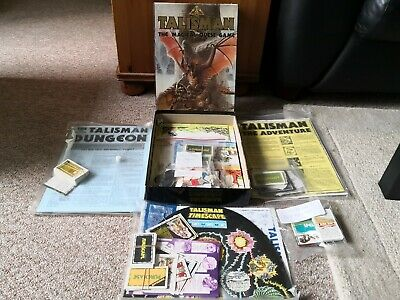 Talisman The Magical Quest Game 2nd Edition & 4 Expansions • 150£