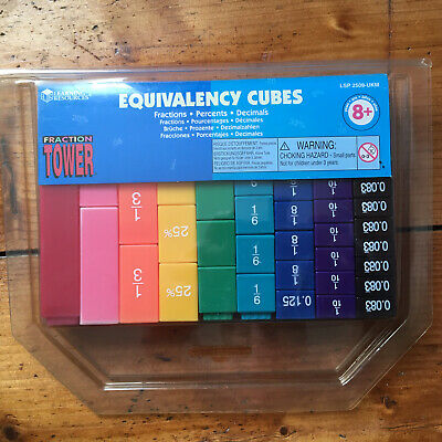 Fraction Tower Equivalency Cubes From Learning Resources • 1.90£