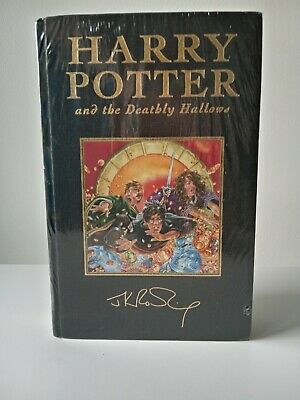 Harry Potter And The Deathly Hallows Deluxe Signature First Edition NEW SEALED • 159.99£