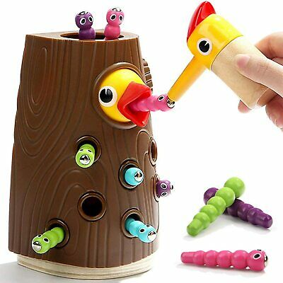 Nene Toys -Educational Magnetic Toy For Kids 2 3 4 Years Old - Pretend Play Game • 12.99£