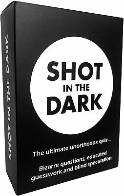 Shot In The Dark - The Ultimate Unorthodox Quiz Game • 10.99£