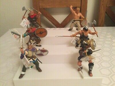 Brand New & Tagged Papo Figures X 6. Vikings & Gladiator, Roman • 19.99£