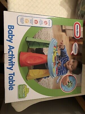 BNIB Little Tikes Baby Activity Play Table 12m+ Stimulates Senses Helps Learning • 5£
