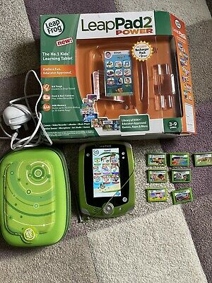 Leapfrog Leappad 2 Power Tablet And Games • 30£