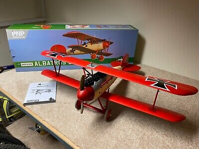 Parkzone Eflite Albatros D. Va RC Model Plane Aeroplane Excellent Condition • 275£