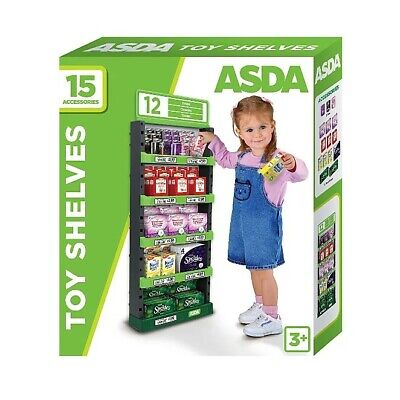 ASDA Stacking Shelves Toy Kids Roleplay Pretend Play Supermarket Fun Gift • 28.99£