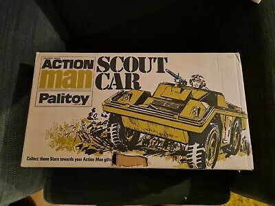 Vintage/Rare Palitoy Action Man Scout Car With Box • 70£