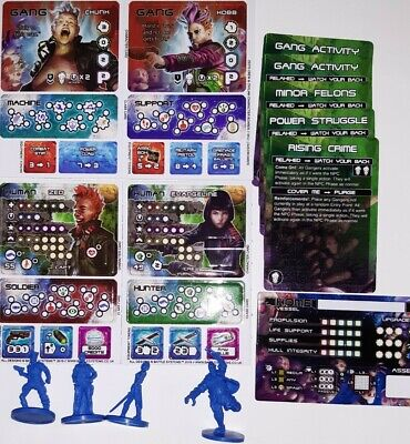 Core Space Board Game Gang Booster  • 15£