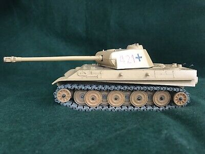 Solido (France) No.236 WW2 German PANTHER G Tank.Metal Tracks Diecast Model • 7.50£
