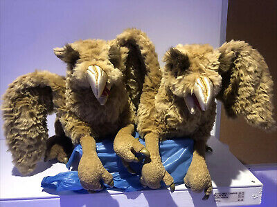 Folkmanis Griffin Puppet 2359 RARE Harry Potter Muggles (Pair) • 19.99£