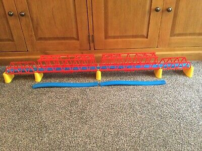 Tomy Thomas Trackmaster. Over 7ft Girder Bridge & Track. Huge Exyension Piece • 17.99£