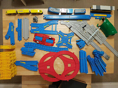 Tomy Tomica Train Track Extensive Bundle-Trains,Depot,Station,Track Risers Etc • 7.25£