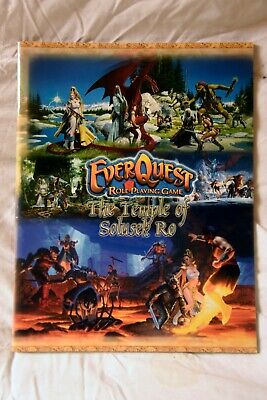 Everquest Rpg The Temple Of Solusek Ro • 10£