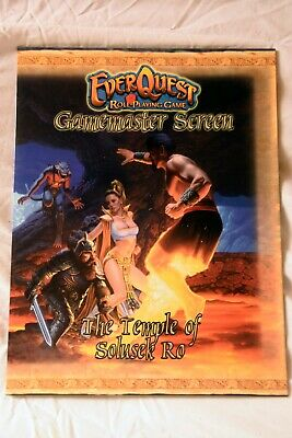 Everquest Rpg Game Masters Screen • 5£