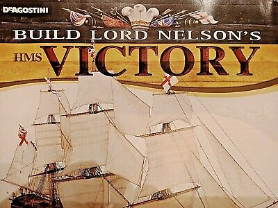 DeAgostini Build Lord Nelson's  HMS Victory Model  Issues 1-110 • 7.95£