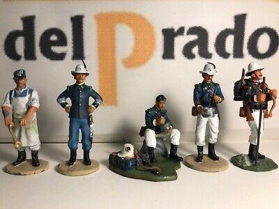 Del Prado Collectable Military Figurines - 5 Alpini Colonial Rancio & Zappatore • 14.99£