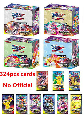 UK 324pcs For Glam Cards Bundle Booster Box English Edition Break No Official • 17.49£