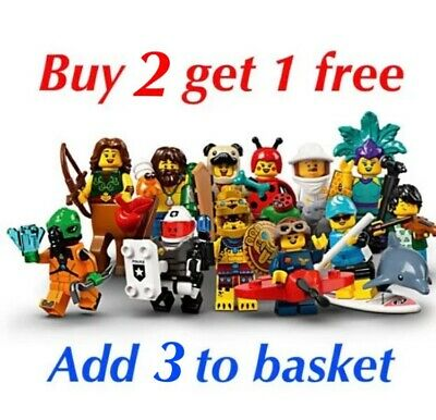 Lego Minifigure Series 21 71029(CHOOSE YOUR FIGURE) BUY 2 GET 1 FREE (500+sold) • 6.95£