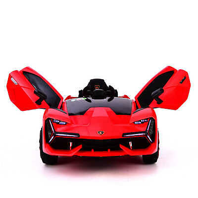 12v Electric Ride On Lamborghini Style Ride On Car With Parental Remote Lambo • 125£