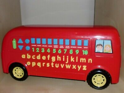 Carousel Talking Phonics, Numbers Electronic Bus Educational Learning Toy • 8£