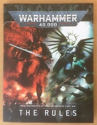 The Rules Book - Warhammer 40,000 - New • 17.99£