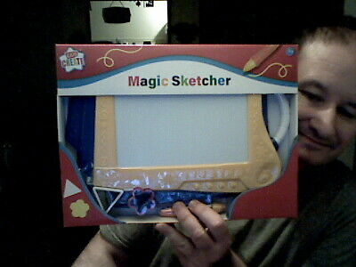 Kids Create Magic Sketcher Etch A Sketch Birthday Christmas Stocking Doodling  • 12£