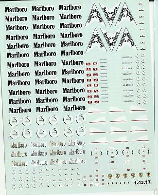 Decals For Cars 1/43 - Marlboro (1.43.17)  • 5£