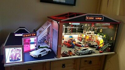 1/18 Scale Diorama Cars Handmade Builds/Showroom/Garage • 2,500£