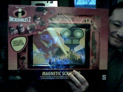 Disney Pixar Incredibles  2 Magnetic Scribbler Etch Variant Drawing Doodle • 15£