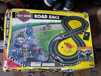 Haley Davidson Super Rare Tyco Road Race Set • 10£