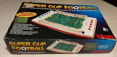 1980s Vintage Tomy Super Cup Football Game - Complete And Working • 55£