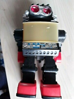 Vintage Plastic Toy Robot Battery Operated Kamco  • 16£