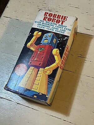Robbie Robot Vintage Toy (box Only)  • 23£