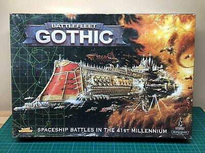 Battlefleet Gothic : Boxed Game With Unused Ships Cruisers • 365£