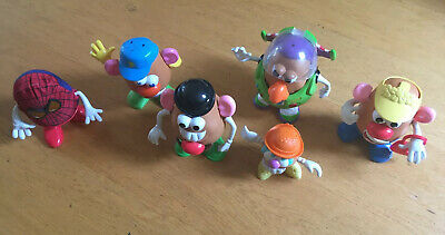 Mr Potato Head Playskool Large Bundle Lots Of Accessories Job Lot 6 Heads Buzz • 21.99£