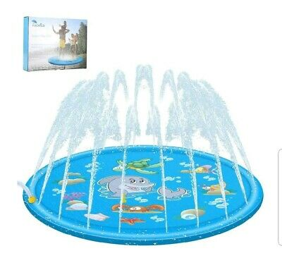Sprinkler Pad Water Family Games Play Children Kids Garden Hot Day Cool Fun Wet  • 9.99£