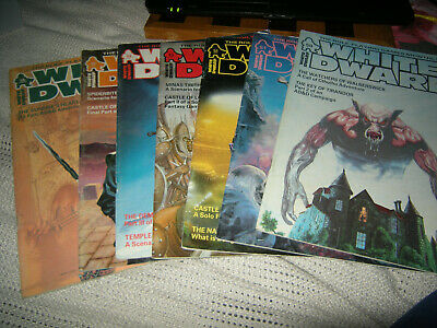 White Dwarf Issue 50 To 56 (7 Issues)  Free Postage • 80£