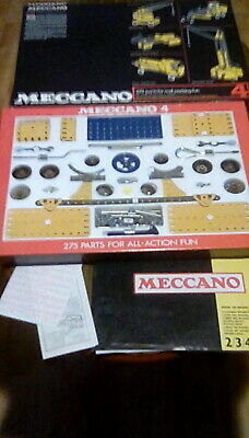 Meccano Set, Number 4 , Vintage Unused Unopened Excellent Condition, See Photos. • 36£