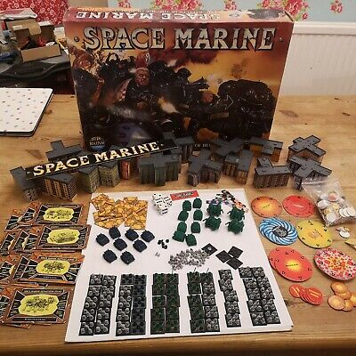 Warhammer 40k Epic Space Marine Boxset 1st Edition (Incomplete) • 40£