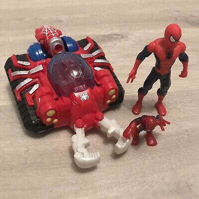 Hasbro Web Strike Tank With Spiderman Figures • 14.99£