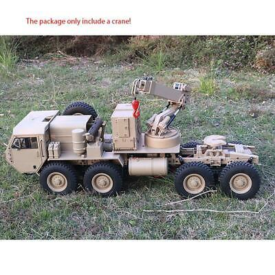 1/12 HG Lifting Arm Truck Crane DIY For RC 8*8 P802 Military Tractor Vehicle • 151.90£