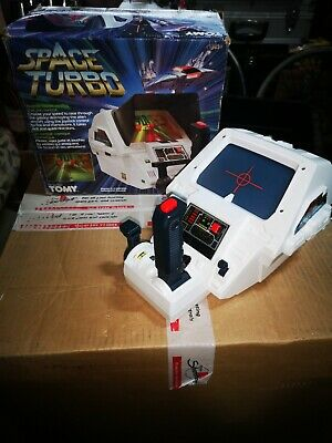 Vintage Classic Retro Tomy 1983 Space Turbo Battery Op Game 7062 Boxed Working  • 85£