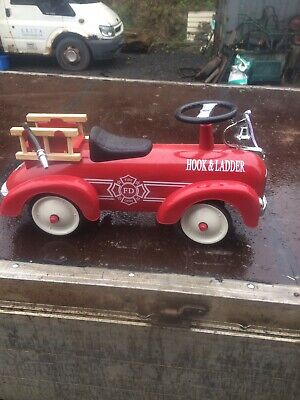 Red Fire Engine Ride On Toy (Big Toys) - Fire Department Truck • 20£