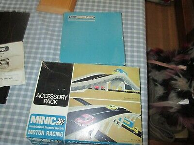 Triang Minic Racing -Flyover And Crossroads-Spares-Boxed • 22£
