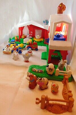 Fisher Price Little People Barm Farm Vehicles Animals People • 14.99£
