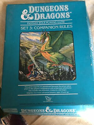 Dungeons And Dragons Board Game Set 3 • 9.80£