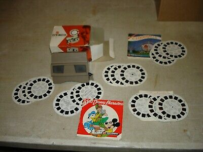 JOB LOT VIEWMASTER ITEMS 1 X TYPE G VIEWER + SELECTION OF SLIDE REALS Dr Who Etc • 16.10£
